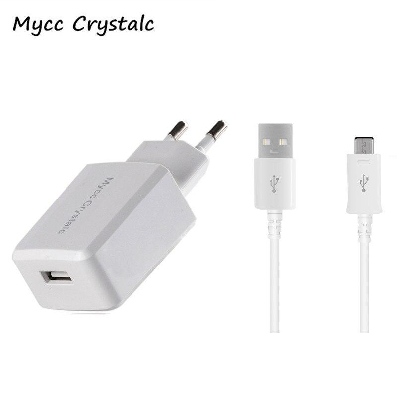 5v 2 1a Micro Usb Eu Plug Wall Travel Charger Micro Usb