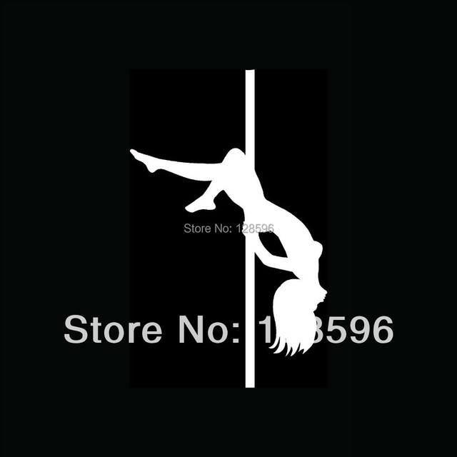 SEXY POLE DANCER For Car Window Sticker Girl Hot Woman Vinyl Decal - Modern car decal sticker girl