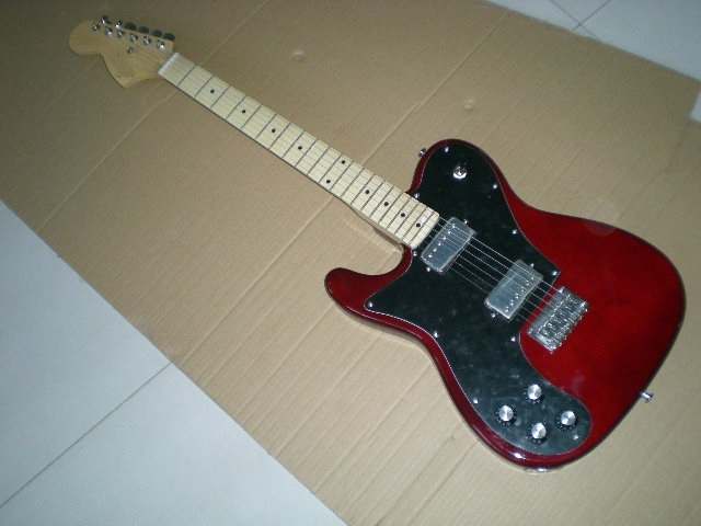 Electric guitar /2018 new guitar / Left-handed / dark red guitar/ Chinese Guitar. 1