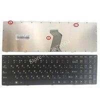 레노버 g580 z580 z580a g585 z585 ru 블랙 프레임 노트북 키보드 용 러시아어 키보드