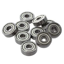 10 Pcs 625ZZ 5mm x 16mm x 5mm Shielded Deep Groove Radial Ball Bearing стоимость