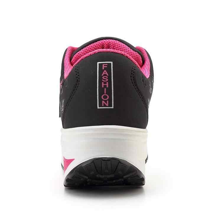 Akexiya נשים סניקרס 2019 לנשימה עמיד למים טריזי פלטפורמת לגפר נעלי אישה עור מפוצל נעליים יומיומיות tenis feminino