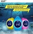 2016 GPS Tracker Часы для Детей Безопасный GPS Часы водонепроницаемые Q520S смарт Наручные Часы SOS Вызова Finder Locator Tracker Anti Потерянный GSM