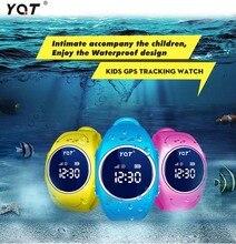 2016 GPS Tracker Reloj para Niños Seguros Del GPS Del Reloj impermeable Q520S inteligente Reloj Localizador Del Buscador Del Perseguidor SOS de Llamada Perdida Anti GSM