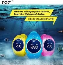 2016จีพีเอสติดตามชมสำหรับเด็กปลอดภัยGPSนาฬิกากันน้ำQ520Sสมาร์ทนาฬิกาข้อมือSOSโทรFinder L Ocatorติดตามต่อต้านหายไปGSM