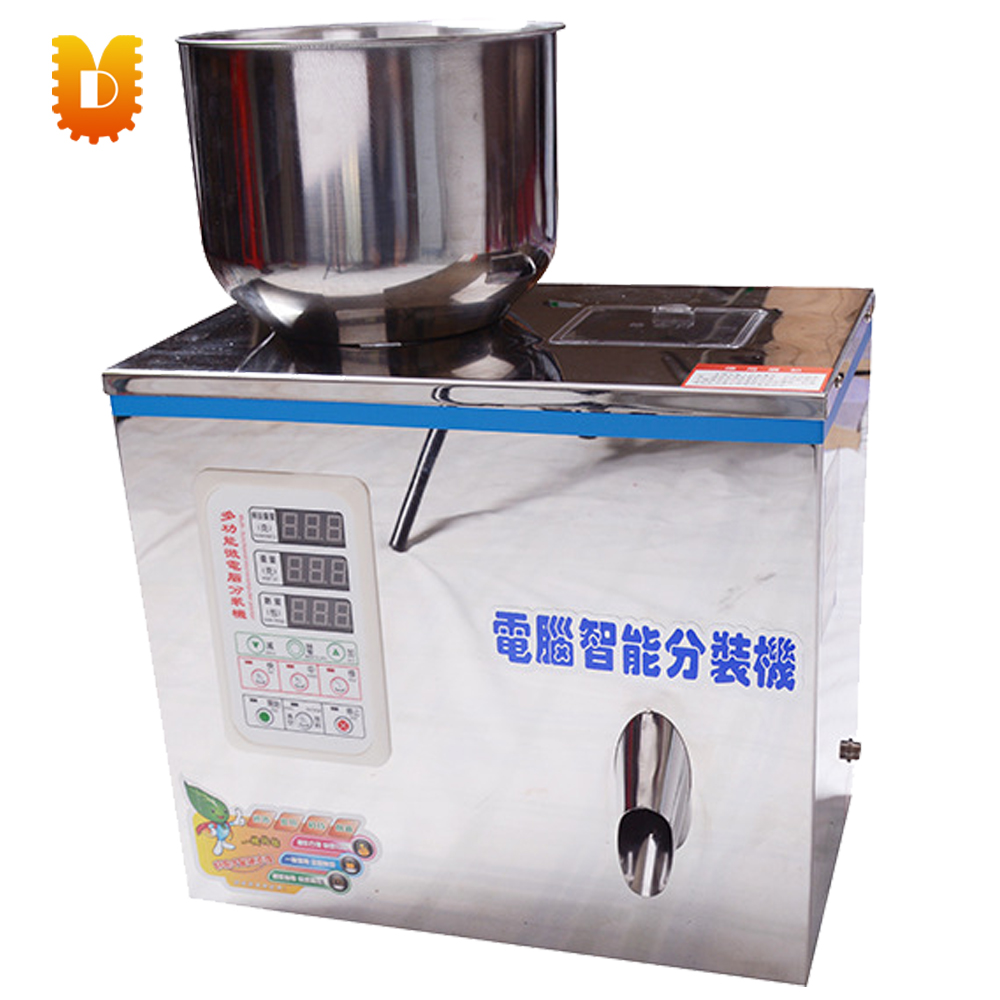 UDFZ-20 new type tea grain racking machine bean powder weighting packing machine 5 999g powder tea weighting and filling machine small hardware accessories distributor