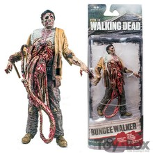 TV Series The Walking Dead Bungee Walker 12cm Toy PVC Action Figure Model Gift(China)