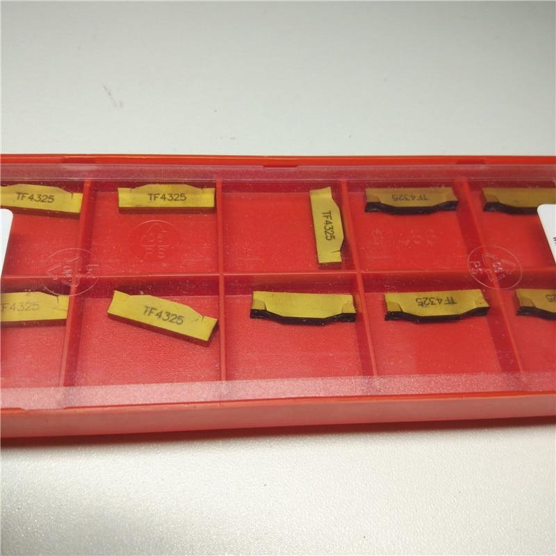 YZ66 10PCS N123G2-0300-0003-TF 4325 LENGTHL1=19,45MM Carbide Insert yz66 10pcs n123j2 0500 0002 cm 1145 lenghtl1 24 52mm carbide insert