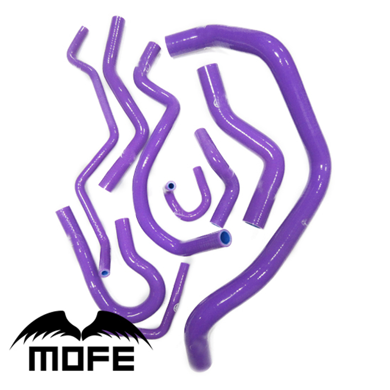 mofe  9pcs Purple Silicone Radiator Coolant Hose For  EG6 Civic K6 SOHC D15 / D16 1992-1997 Purplemofe  9pcs Purple Silicone Radiator Coolant Hose For  EG6 Civic K6 SOHC D15 / D16 1992-1997 Purple