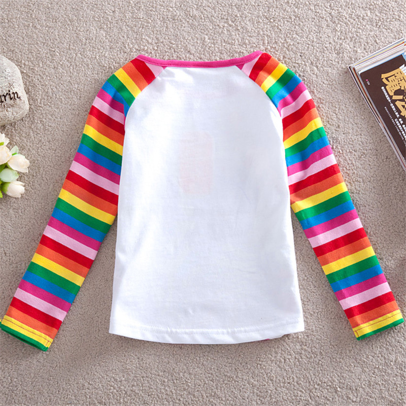 NOVATX girls tops Spring Autumn floral girls t-shirts kids clothing cotton sweatshirts tee tops bobo choses brand roblox F1411