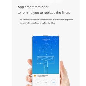 Image 3 - חדש 2pcs Xiaomi Mijia ROIDMI מסנן עבור כף יד שואב אבק F8 חילוף חלקי רחיץ שוב ושוב להשתמש App להזכיר החלפה