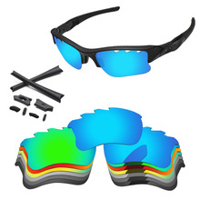 PapaViva Polarized Replacement Lenses and Black Rubber Kits for Authentic Flak Jacket XLJ Vented Sunglasses - Multiple Options new running shoes breathable outdoor male sports shoes lightweight sneakers women walking gym training shoes