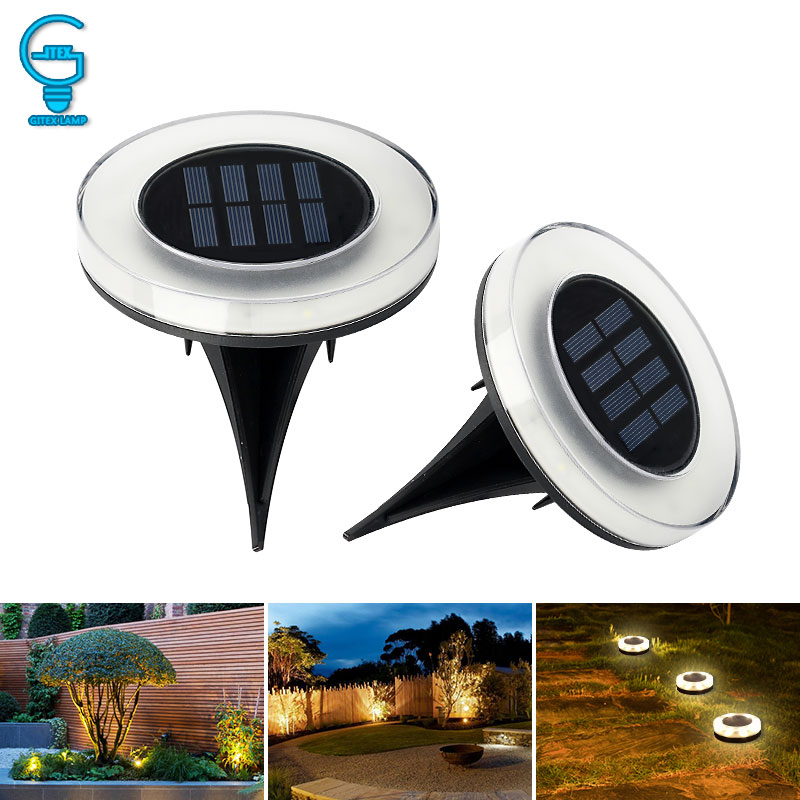 8 LED Solar Power Buried Light  Waterproof Ground Lamp Outdoor Path Way Garden Lawn Light Cool/Warm White8 LED Solar Power Buried Light  Waterproof Ground Lamp Outdoor Path Way Garden Lawn Light Cool/Warm White