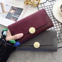 Brand Leather Wallet Women…