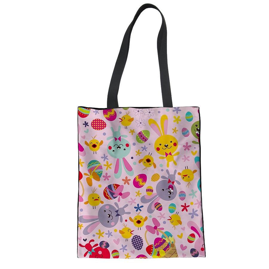 NOISYDESIGNS Custom Printed Canvas Shoulder Bag Female Large Capacity Handbag Female Shopping bag Summer Leisure Beach bag