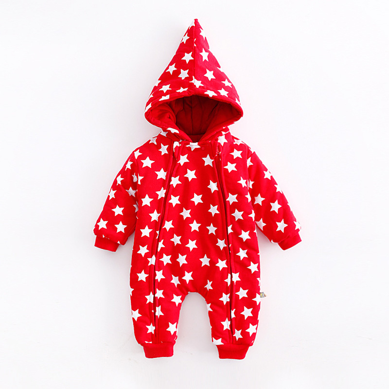Peninsula Baby 2017 baby clothing Lively design baby rompers red color with star print fashion babywear unisex hooded babywear lole капри lsw1349 lively capris xl blue corn