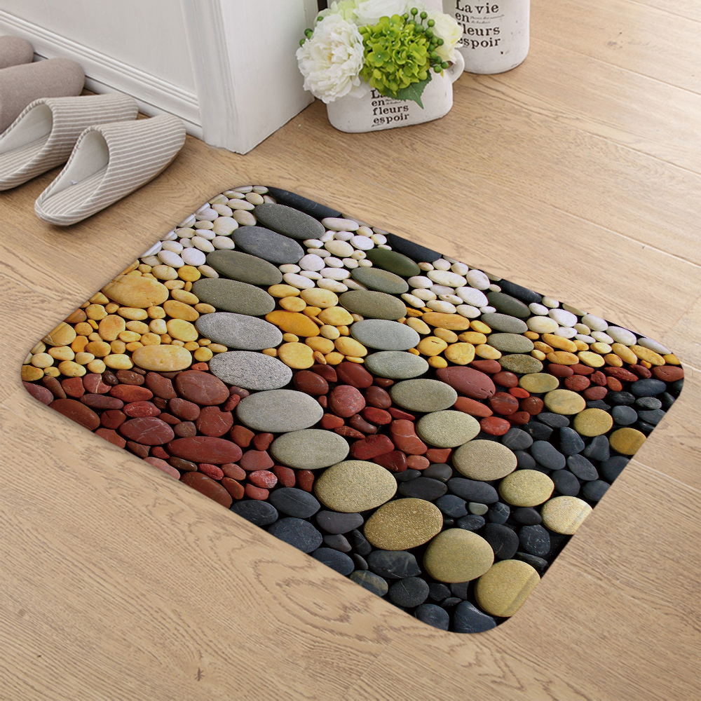 Ordinaire ... Mat Kitchen Mats Anti Slip Entrance Door Mats Entrance Rug Bathroom Mat  Size: 40cm X 60cm. Weight: 100g. Color: As The Picture