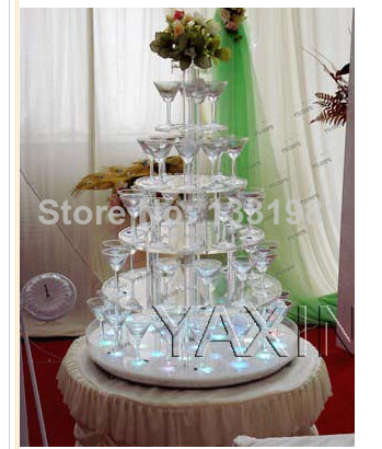 event party supplies/Absolutely authentic bag mail look clean and transparent layer 6 round acrylic cupcakes