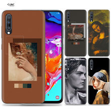 Bags Case for Samsung Galaxy Mobile Phone A50 A70 A30 A20 J4 J6 J8 A6 A8 M30 A7 Plus 2018 Note 8 9 Accent wall lockscreen art Tu(China)