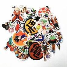 2018 50Pcs/lot Anime Dragon Ball Stickers Super Saiyan Goku Stickers Decal For Snowboard Luggage Car Fridge Laptop Sticker