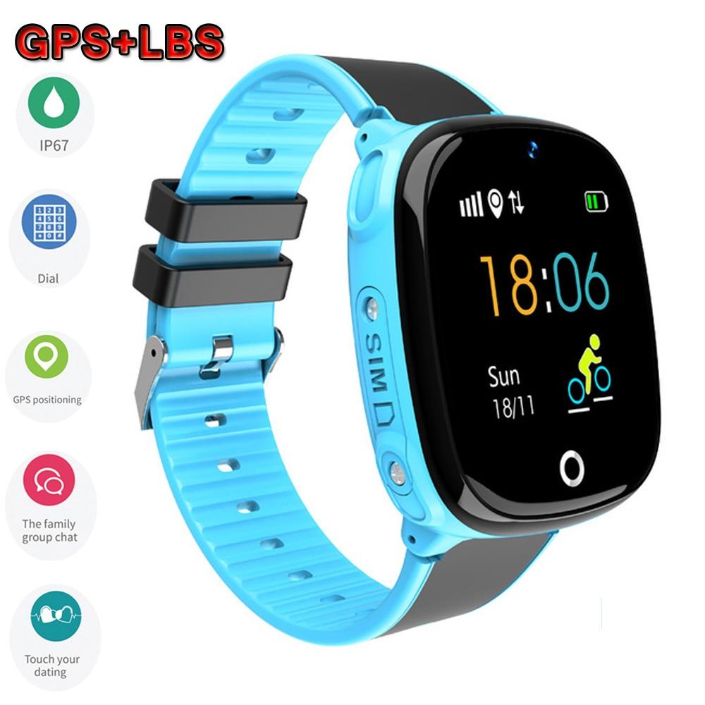 HW11 GPS Smart Watch Kids Waterproof Smartwatch Pedometer Smart Watch Children SOS Call Kids Safe GPS Tracker 2G Kids Smartwatch-in Smart Watches from Consumer Electronics on AliExpress