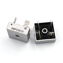 2 PZ/LOTTO KBPC5010 50A 1000V Diodo Raddrizzatore A Ponte kbpc5010