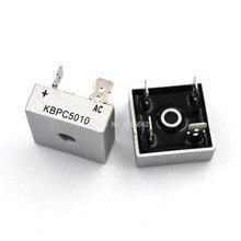 2 sztuk/partia KBPC5010 50A 1000V diody mostek prostowniczy kbpc5010