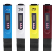 OOTDTY Water Quality Purity Tester TDS LCD Temperature Meter PPM Filter Hydroponic Pool 4 Colors