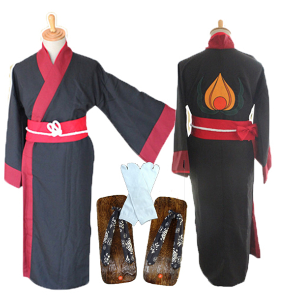 Hoozuki No Reitetsu Cosplay Costume Bathrobe Kimono+Clogs+ Socks+Free Shipping HOT SELL G