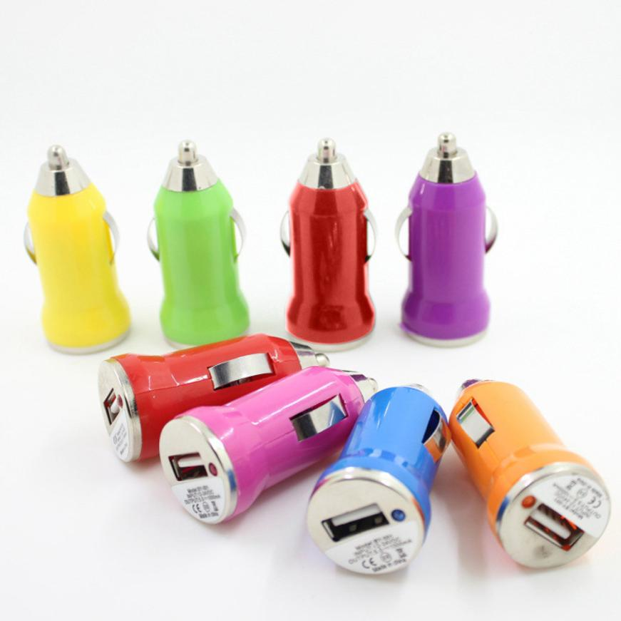 2018 Hot Sale Product Mini Car Charger USB Charger Adapter for IPOD for Blackberry USB Charging battery universal phone charger