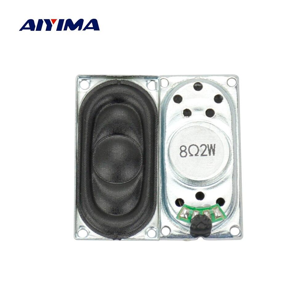 AIYIMA 2Pcs Mini Audio Portable Speakers 2040 8Ohm 2W ...