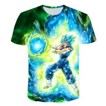 Camiseta 3d Saiyan Vegeta Animados Dragon Azul Top Hombre Dibujos Para Instinct 2019 Impresión De Ball Super Dios Z Ultra Nueva Goku Verano DeIYW29EHb