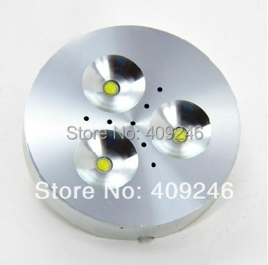 Bright 3X1W Mini EPISTAR LED Chip Thin light jewelry counter Spot light Wine Ceiling Bar Cabinet lamp