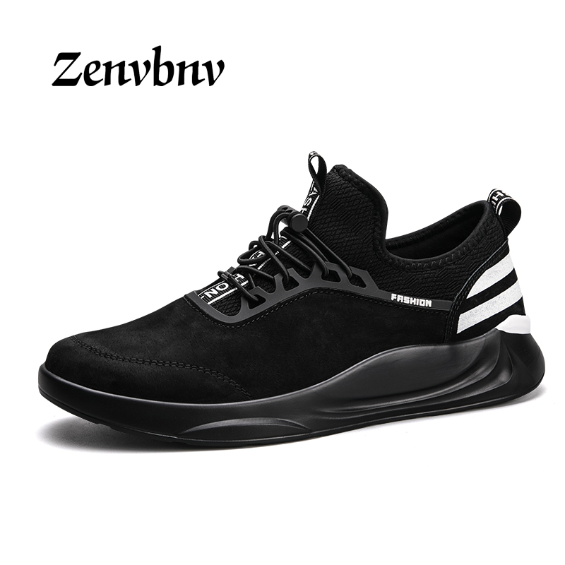 ZENVBNV High Quality Autumn Winter Genuine Leather Men Shoes Fashion Shoes Men Casual Shoes 44 size Flats Zapatos Hombre Sapatos статуэтки forchino статуэтка гольфист fore the golfer forchino