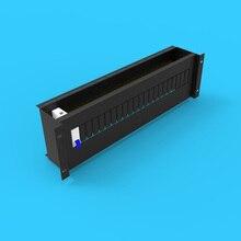 3U стойка распределительная коробка простой тип стойка является специальным Высоковольтная электрическая коробка Колонка головной шкаф C45 Тип направляющей избрать