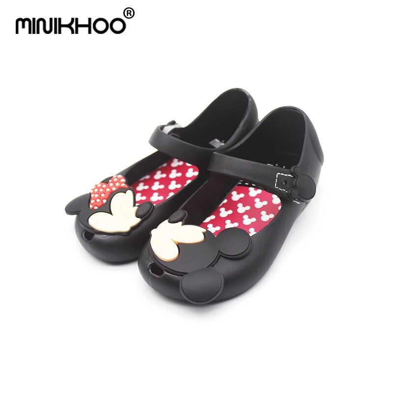 d62850d1 Melisa 2018 Mini Mickey y Minnie Jelly Zapatos niños niñas sandalias suave  comodidad niño niña Sandalias