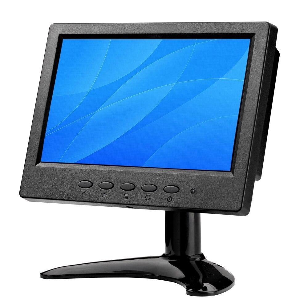 ZHIXIANDA 7 inch IPS LCD computer monitor with HDMI AV VGA BNC USB interafce and two