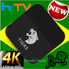 TIGRE HTV6 TV BOX htv 6 vs HTV5 a2 brésilien portugais TV Internet Streaming box Live IPTV film brésil 4K HD lecteur multimédia(China)