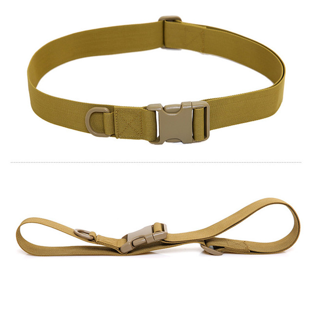 Military Trouser Belt Army Tactical Nylon Webbing Buckle Strap for Outdoor Camping B2Cshop