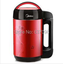 CHINA Midea Multifuctional Soy Milk Maker DE12G13 red 220v  FREE SHIPPING