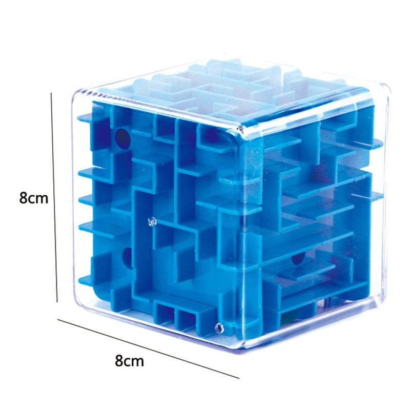 8 * 8 * 8cm 3D Puzzle Maze Cube Puzzle Vitesse Cube Puzzle Jeu - Jeux et casse-tête - Photo 6