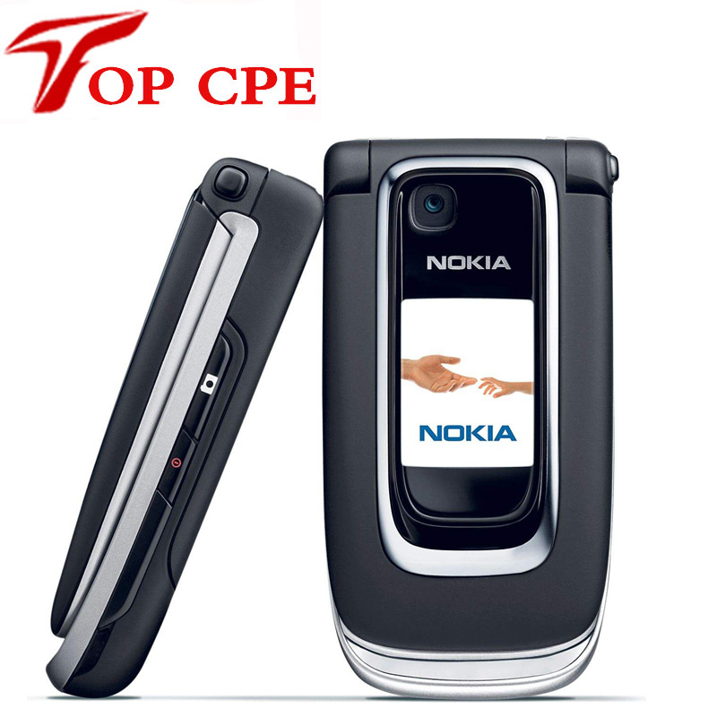 Original Nokia 6131 Unlocked cell phone Refurbished one year warranty support russian keyboard russian menu free