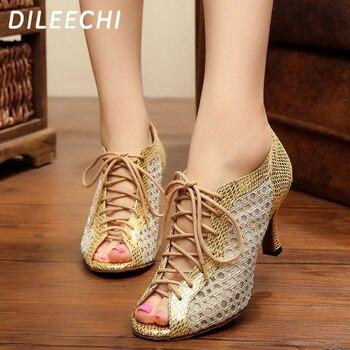Λατινικά Παπούτσια Γυναικεία Παπούτσια Χορού 7.5cm Τακούνι