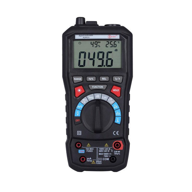 цена Digital Mulmeter LCD Display Tester Meter Mini Multimetro DC AC Voltage Current Resistance Diode Tempeature Automatic Multimeter