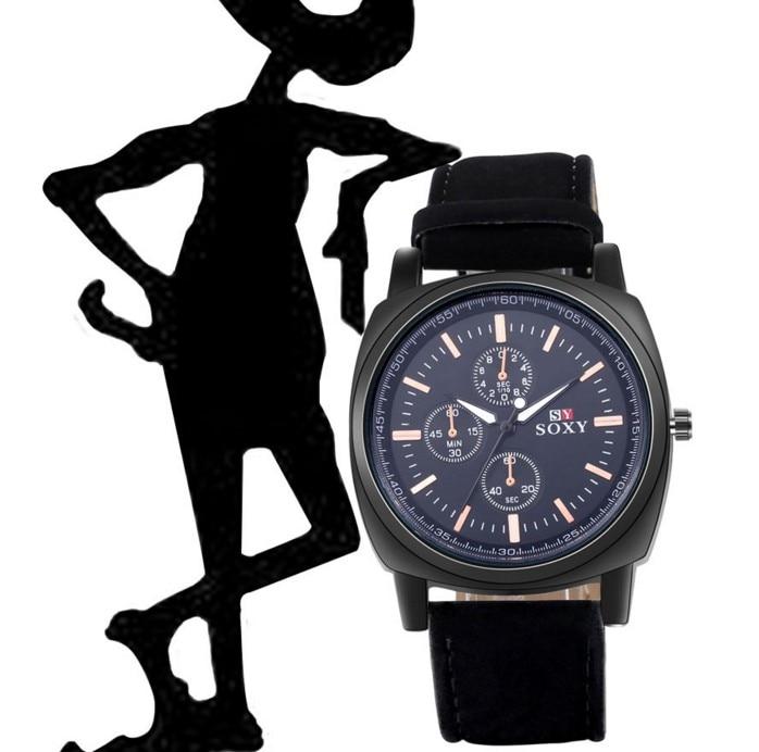 wysokiej jakości zegarki męskie męskie Wrist Watch Quartz - Męskie zegarki - Zdjęcie 5