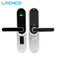 2019 Fingerprint Smart Door Lock, Code, Touch Screen Digital Password Biometric Electronic Lock Key for Home Office lk01