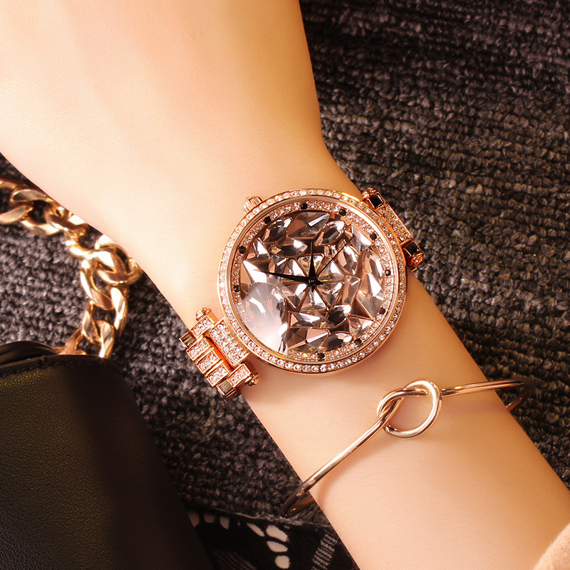 Watch Women Brand Top Luxury Rose gold Watches Women's Rhinestone Diamond Ladies Watch Clock femme relogio femenino reloj mujer sinobi ceramic watch women watches luxury women s watches week date ladies watch clock montre femme relogio feminino reloj mujer
