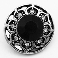 MN1029  new   Crystal  metal snap button for Bracelet (fit 18mm 20mm snap)
