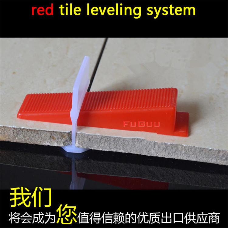 400pcs Tile Leveling System 300 Clips With 100 Wedges Plastic Spacers Tiling Tool Plastic1.5mm Gap Prevent displacement (12)