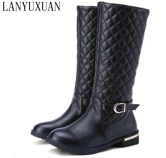 winter long thigh high women woman femininas mid-calf boots botas masculina zapatos botines mujer chaussure femme shoes 923